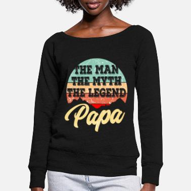 Best Father Father Best Father Father's Day - Women's Wide-Neck Sweatshirt