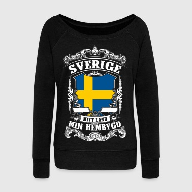 Sverige - Sweden - Schweden - Women's Boat Neck Long Sleeve Top