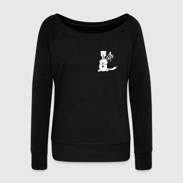 bagpipes - Women's Boat Neck Long Sleeve Top