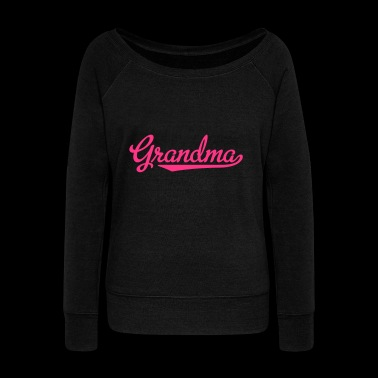 2541614 15322001 Grandma - Women's Boat Neck Long Sleeve Top
