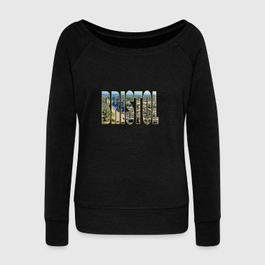 bristol UK - Women's Boat Neck Long Sleeve Top
