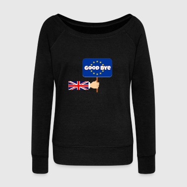 United Kingdom and Gibraltar European Union membership referendum - Women's Boat Neck Long Sleeve Top