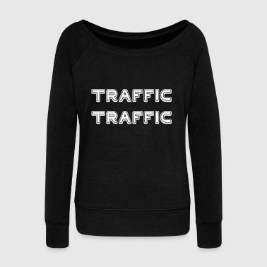 TRAFFIC TRAFFIC - Women's Boat Neck Long Sleeve Top