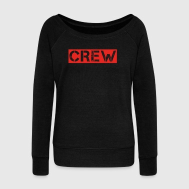 crew party mallorca malle drinking jga bride member - Women's Boat Neck Long Sleeve Top