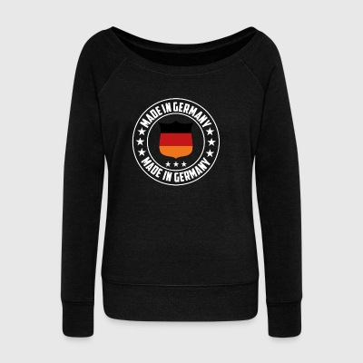 Germany T-Shirt - Women's Boat Neck Long Sleeve Top