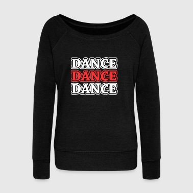 Ballet dancer shirt, women's dancer shirt, dancing - Women's Boat Neck Long Sleeve Top