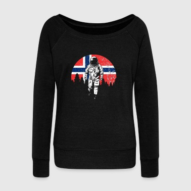 Norway - Women's Boat Neck Long Sleeve Top