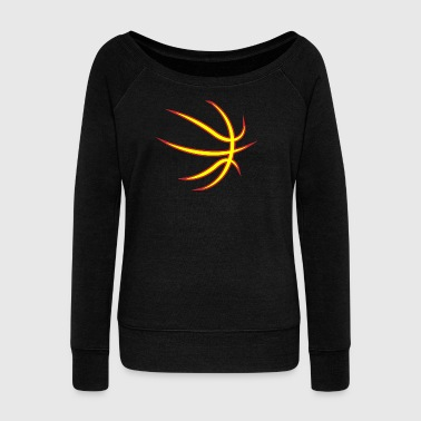 Basketball! BBall! Streetball! NBA! - Women's Boat Neck Long Sleeve Top