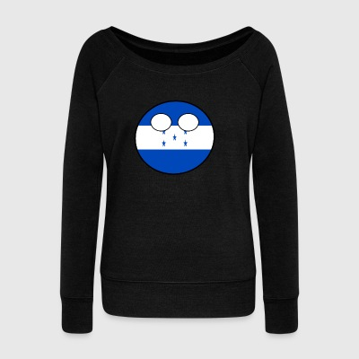 Countryball Country Homeland Honduras - Women's Boat Neck Long Sleeve Top