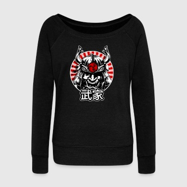 Martial arts - Women's Boat Neck Long Sleeve Top