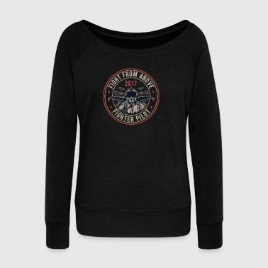 Death From Above - Pull Femme col bateau de Bella