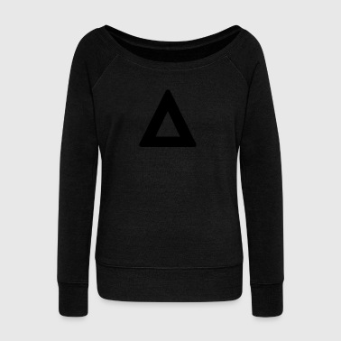 Triangle - Women's Boat Neck Long Sleeve Top