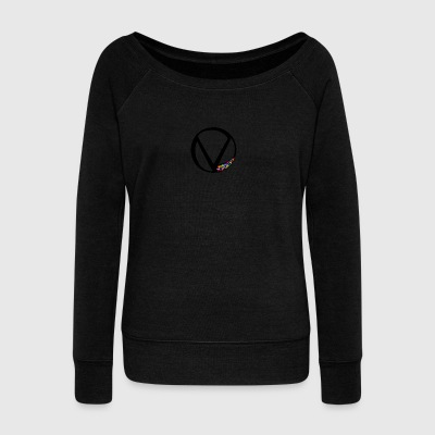 Symbol - Women's Boat Neck Long Sleeve Top