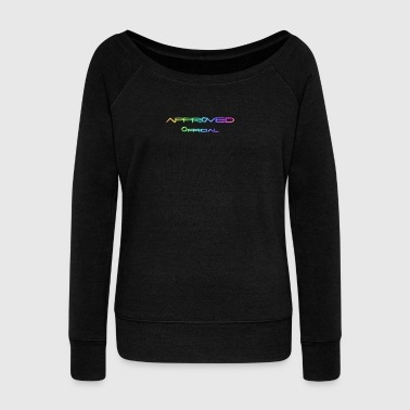 OfFiCiAl ApPrOvEd - Women's Boat Neck Long Sleeve Top