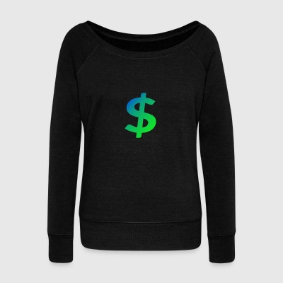 Cash master - Women's Boat Neck Long Sleeve Top