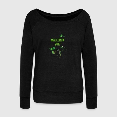 Holidays in Majorca - Women's Boat Neck Long Sleeve Top