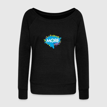 More Radio 2017 - Women's Boat Neck Long Sleeve Top