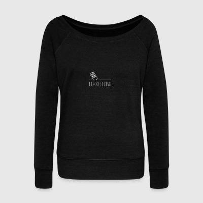 Nice thing - Women's Boat Neck Long Sleeve Top