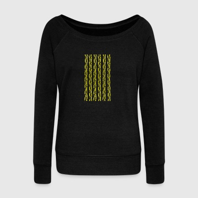 Golden Chain - Women's Boat Neck Long Sleeve Top