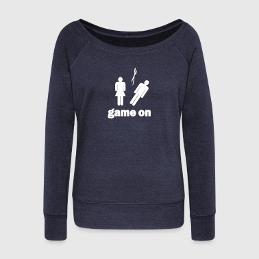 Game on - Pull Femme col bateau de Bella