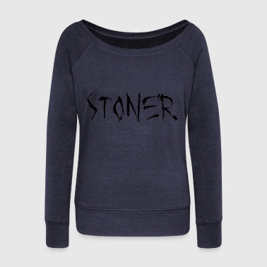 Stoner Stoner - Women's Boat Neck Long Sleeve Top