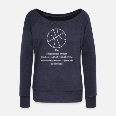 Basket-ball Basket-ball - basket-ball - Pull Femme col bateau de Bella