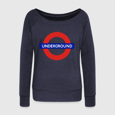 Underground Underground - Women's Boat Neck Long Sleeve Top