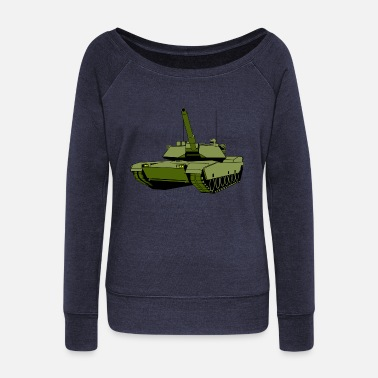 Tank - Women's Wide-Neck Sweatshirt