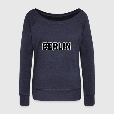 Berlin Berlin Berlin Berlin Berlin - Women's Boat Neck Long Sleeve Top