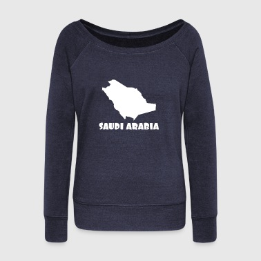 Arabia Saudi Arabia - Women's Boat Neck Long Sleeve Top