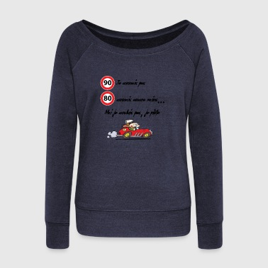 Driver Driver - Women's Boat Neck Long Sleeve Top