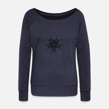 Tribal Tribal - Women's Wide-Neck Sweatshirt