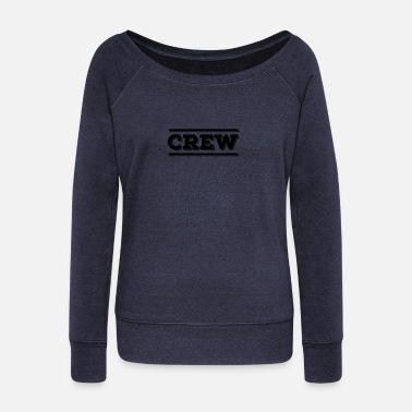 Film Crew Member JGA Film Team Bride Staff only! party - Women's Boat Neck Long Sleeve Top