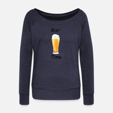 Wheat Beer wheat beer 159789 - Women's Boat Neck Long Sleeve Top