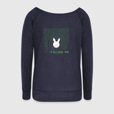 White Rabbit white rabbit - Women's Boat Neck Long Sleeve Top