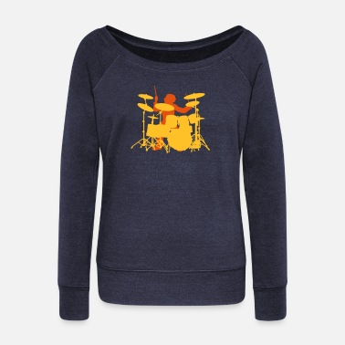 Mapex Drums - Women's Wide-Neck Sweatshirt
