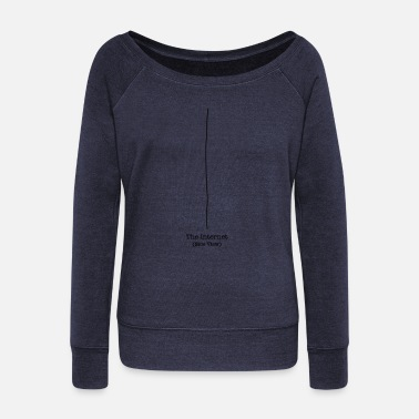 Geekshirts The Internet - Side View - Pull col bateau Femme