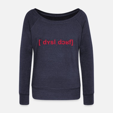 United London, United Kingdom - Women's Wide-Neck Sweatshirt