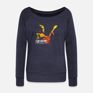 It ain't bregging if you can back it up - Vrouwen U-hals longsleeve