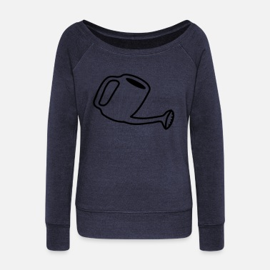 Watering Can Watering Can - Women's Wide-Neck Sweatshirt