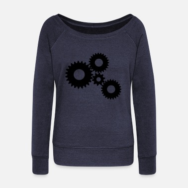 Gear Gears / Gear / Gear - Women's Wide-Neck Sweatshirt