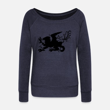 Griffin griffin - Women's Wide-Neck Sweatshirt