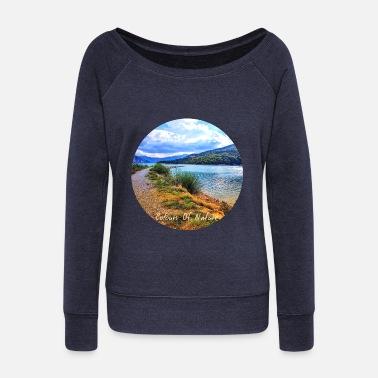 Collection De Nature Collection Colours Of Nature - Pull col bateau Femme