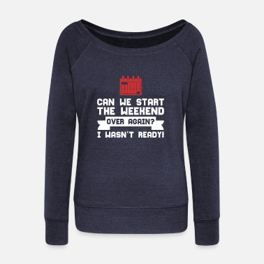 Celebrate CELEBRATE - Women's Wide-Neck Sweatshirt