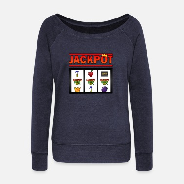Hartz 4 Jackpot Hartz 4 - Women's Wide-Neck Sweatshirt