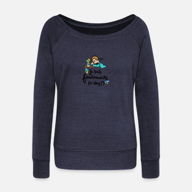 Official-person Official! - Women's Wide-Neck Sweatshirt