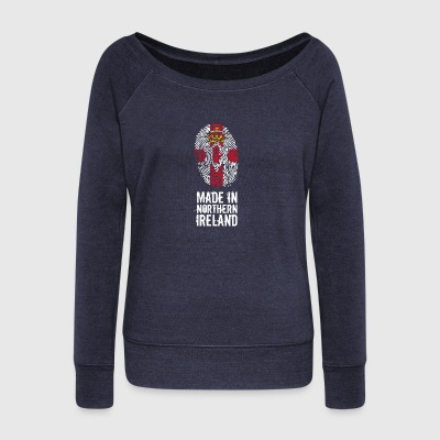 Made In Northern Ireland / Northern Ireland - Women's Boat Neck Long Sleeve Top