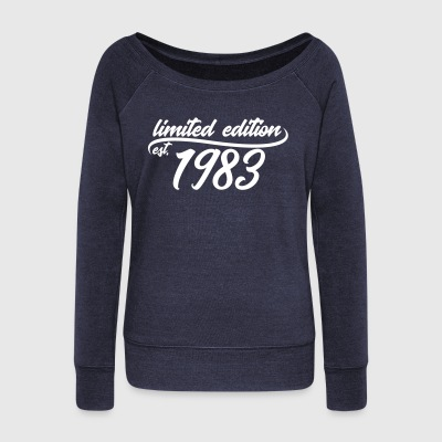 Limited Edition 1983 is - Pull Femme col bateau de Bella