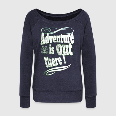 Adventure - Women's Boat Neck Long Sleeve Top