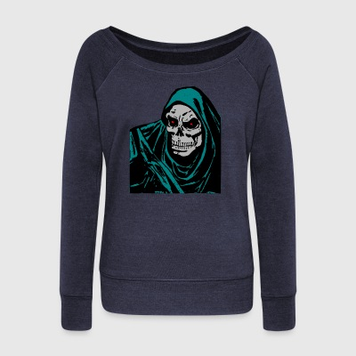 Reaper - Women's Boat Neck Long Sleeve Top